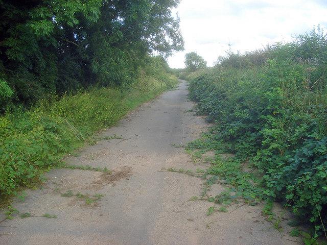 Bridleway near Swepstone