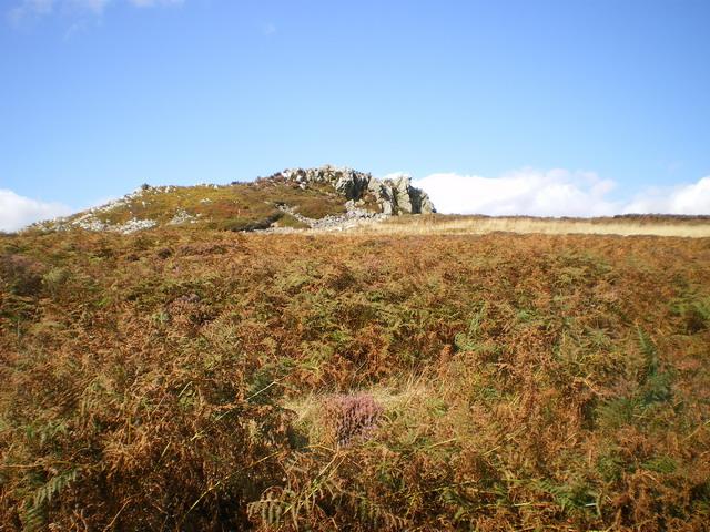Shepherd's Rock from below
