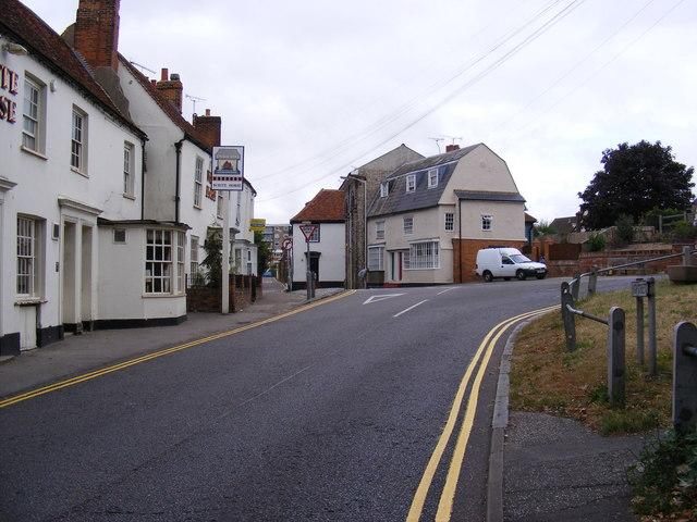 Vicarage Lane, Great Baddow