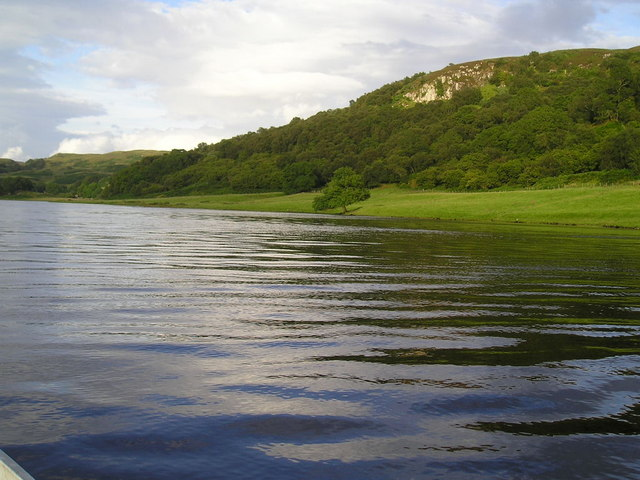 'One tree bay' Loch Nell