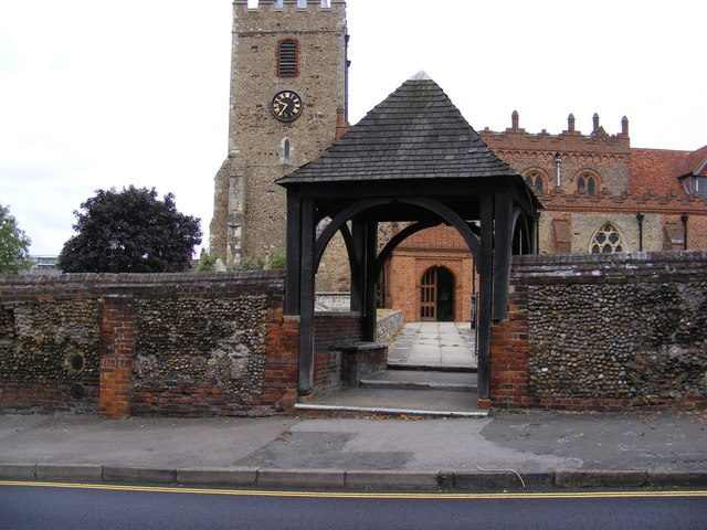 St.Mary's Church  Lych Gate & Tower