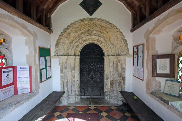 All Saints, Chedgrave, Norfolk - Porch