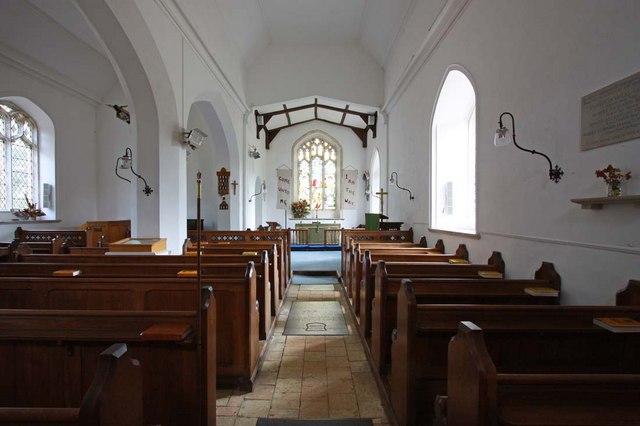 All Saints, Chedgrave, Norfolk - East end