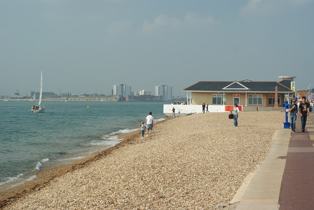 Beach at Southsea, Hampshire