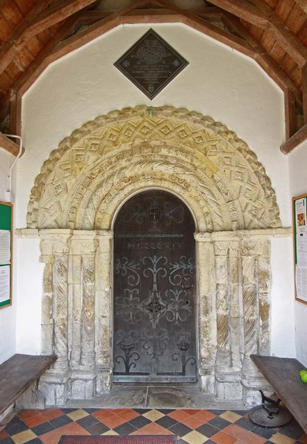 All Saints, Chedgrave, Norfolk - Doorway