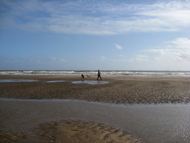 Mablethorpe - North End Beach at Low Tide