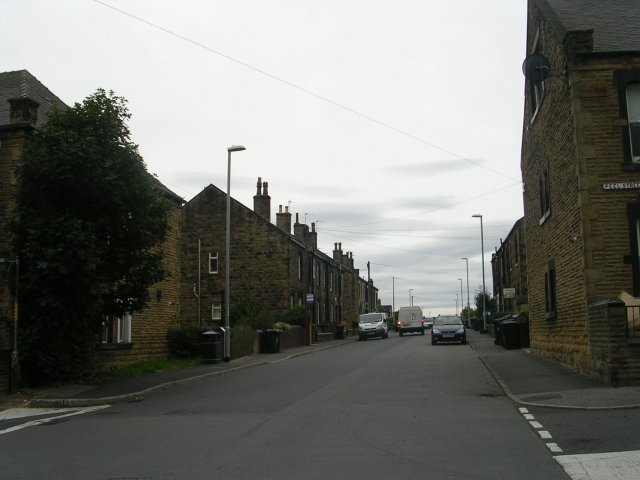 Clough Street - viewed from Peel Street