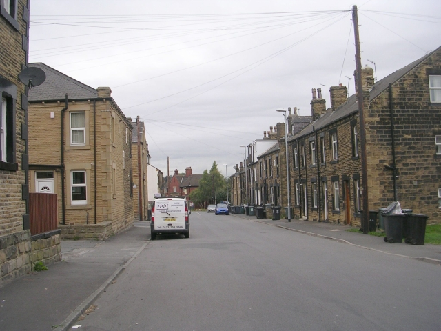 Clough Street - viewed from Peel Street