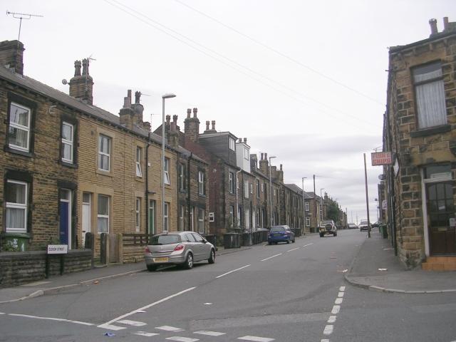 Clough Street - viewed from Ackroyd Street