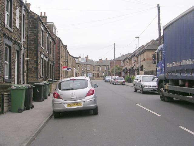Cross Peel Street - Ackroyd Street