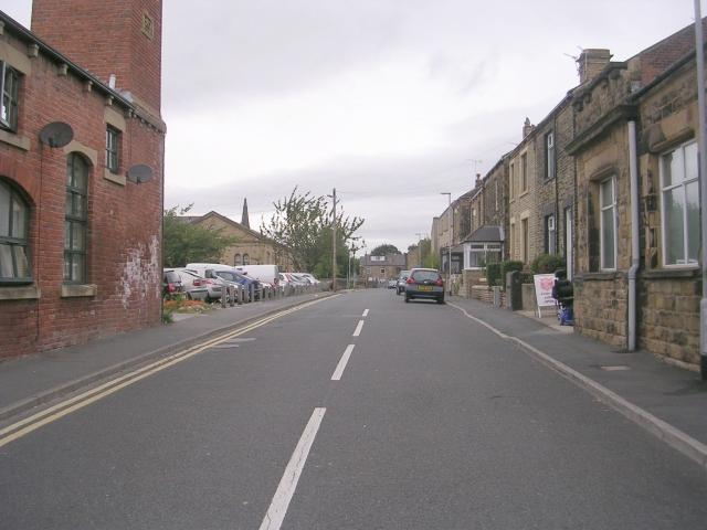 Marshall Street - Ackroyd Street