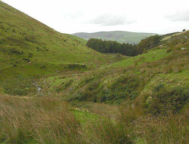 Cwm of the Nant Braich-y-rhiw