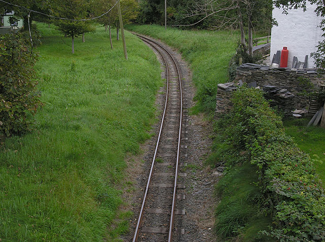 Talyllyn Railway east of Rhydyronen