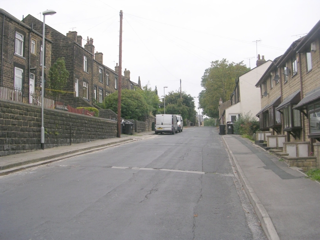 Troy Road - viewed from Zoar Street
