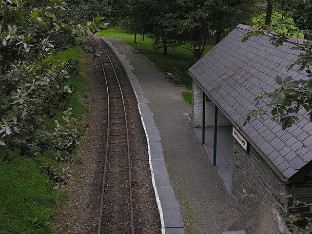 Rhydyronen station, Talyllyn Railway