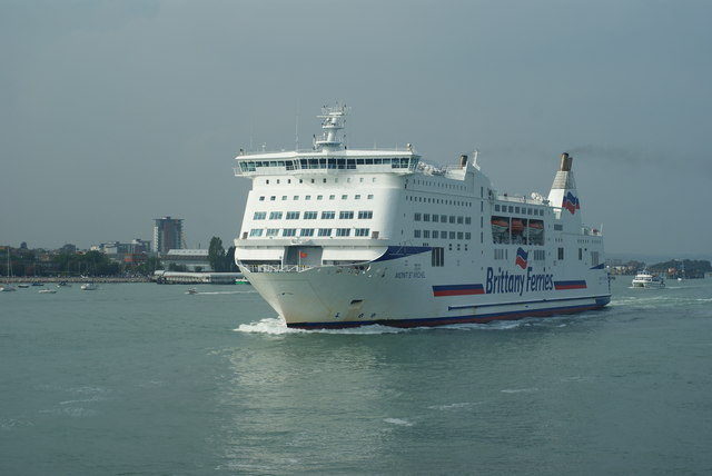 Mont St.Michel Leaves Portsmouth Harbour