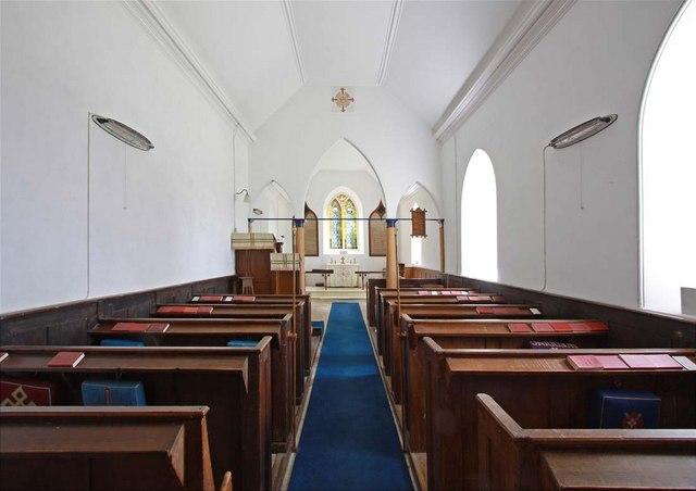 St Mary, Sisland, Norfolk - East end
