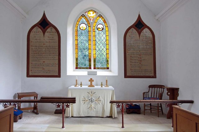 St Mary, Sisland, Norfolk - Sanctuary