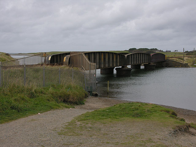The Dysynni railway bridge