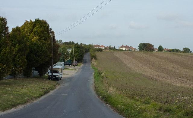 Ratling Road near Aylesham