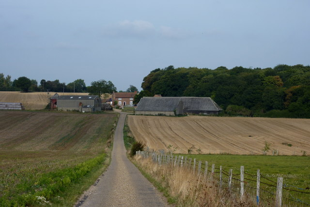 Drive to Old Court Farm, near Ratling