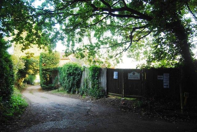 Entrance, Bardogs Farm, Puddledock Lane