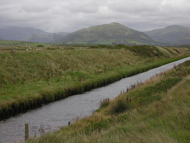 Morfa Gwyllt drainage channel