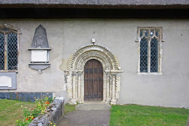 St Mary, Thwaite St Mary, Norfolk - Doorway