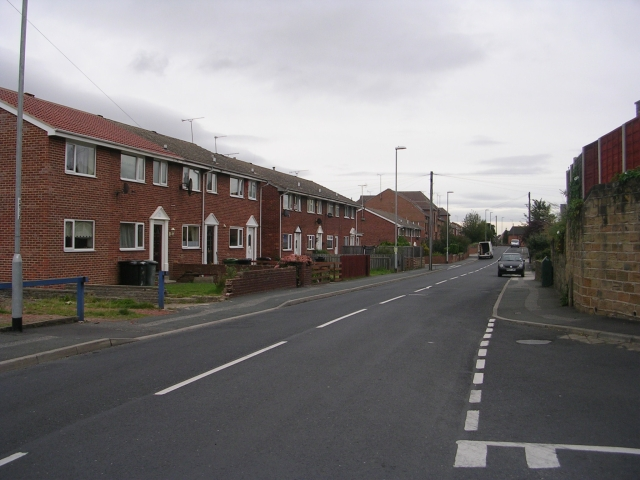 Albert Road - viewed from Troy Road