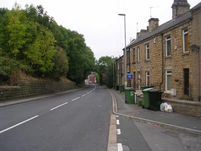 Albert Road - viewed from Troy Road