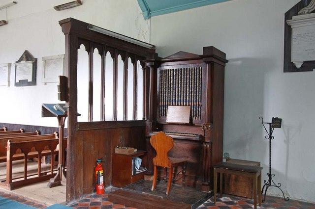 St Mary, Thwaite St Mary, Norfolk - Organ