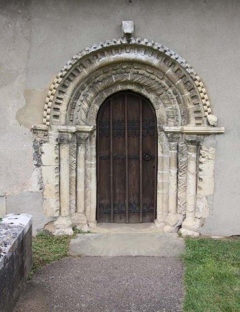 St Mary, Thwaite St Mary, Norfolk - Doorway