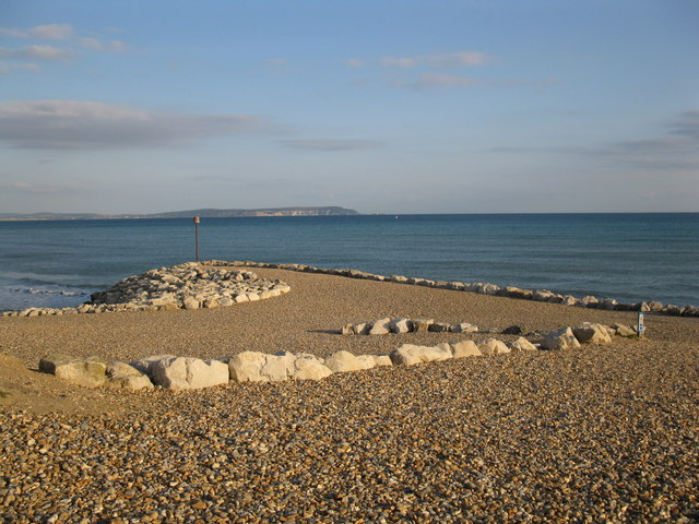 Rock sea defences