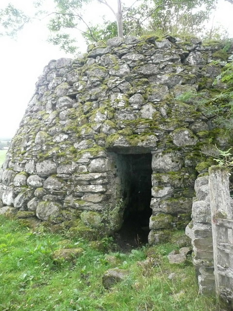 A most impressive lime kiln