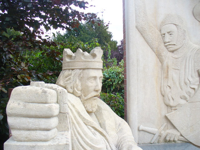 King John Statue, Egham