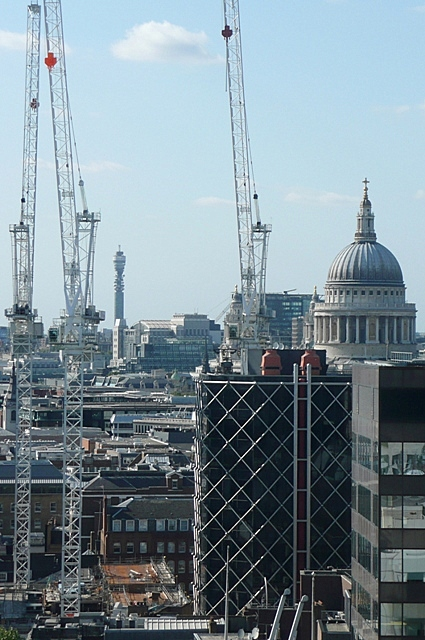 Busy rebuilding London