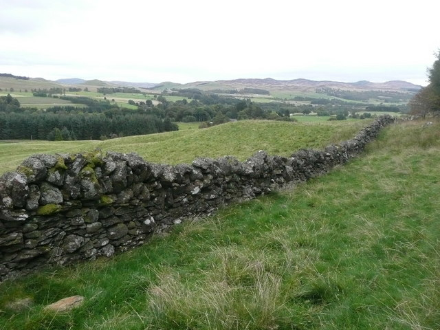 Splendid dry stone wall