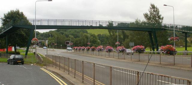 Kimberly Park footbridge, Malpas, Newport