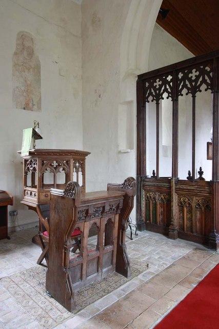 St Margaret & St Remigius, Seething, Norfolk - Pulpit