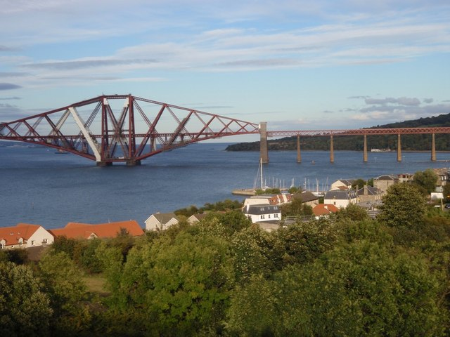 Across South Queensferry