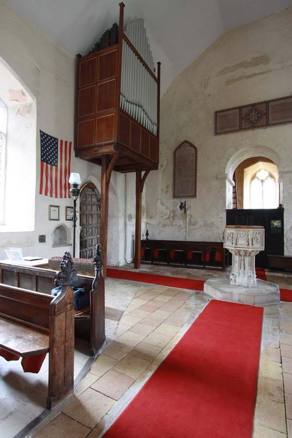 St Margaret & St Remigius, Seething, Norfolk - Organ