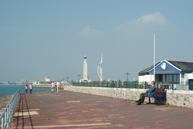 Waterfront at Southsea, Hampshire