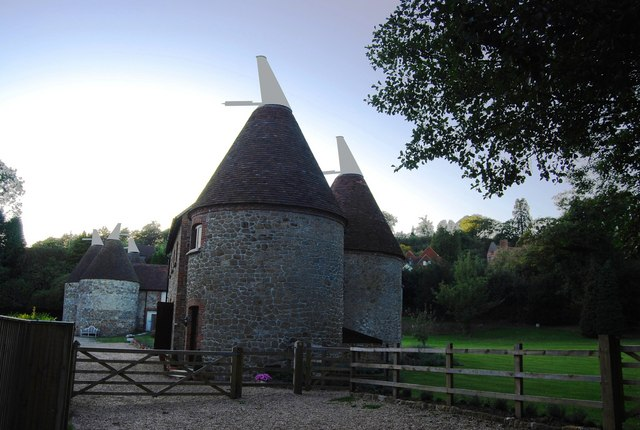 Dairy Oast and Oast Tops, Chartwell Farm