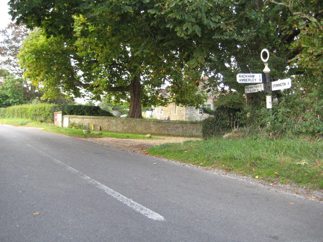 Greatham: Old WSCC signpost