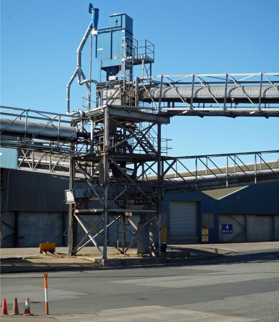 Conveyor Tower, New Holland Bulk Storage