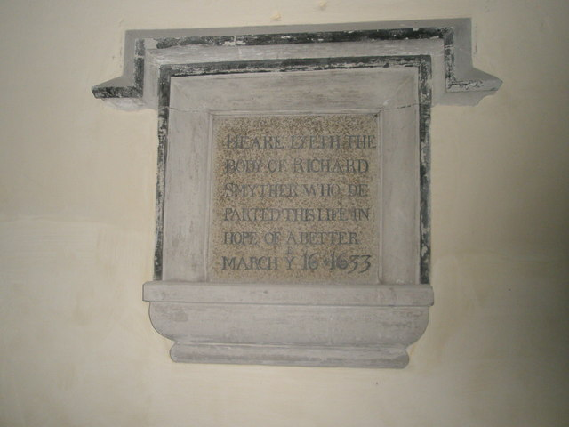 Memorial in the south transept at All Saints, East Meon (1)