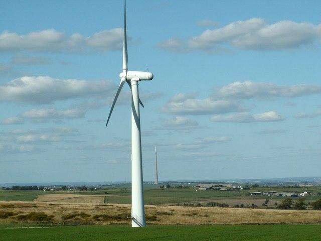 A Royd Moor Wind Turbine