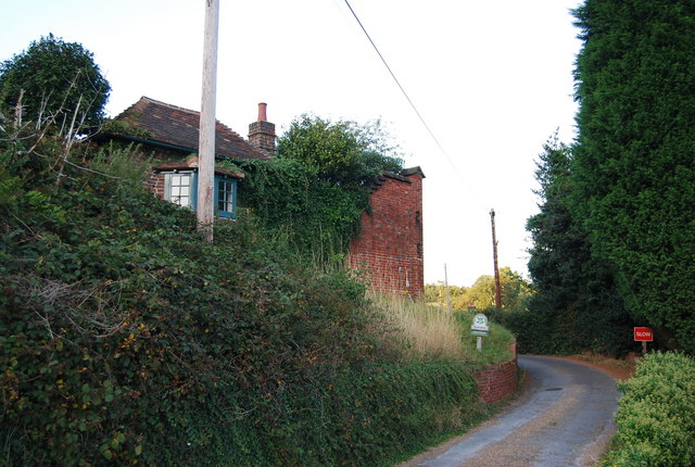 Derelict house, Chartwell