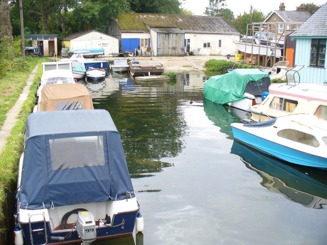 Boatyard at Runnymede