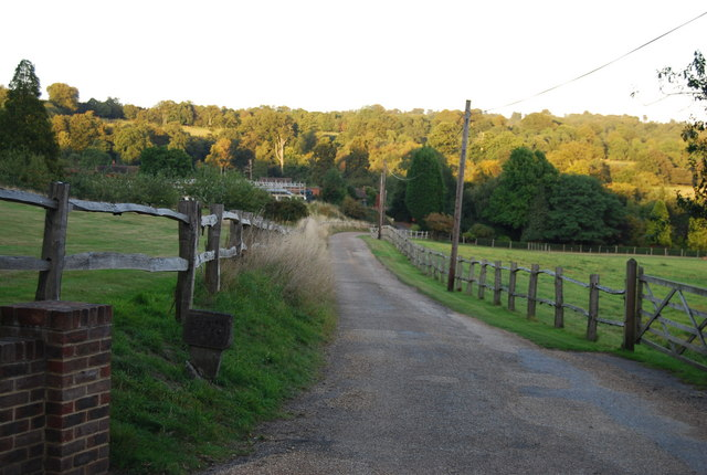 Footpath to Chartwell